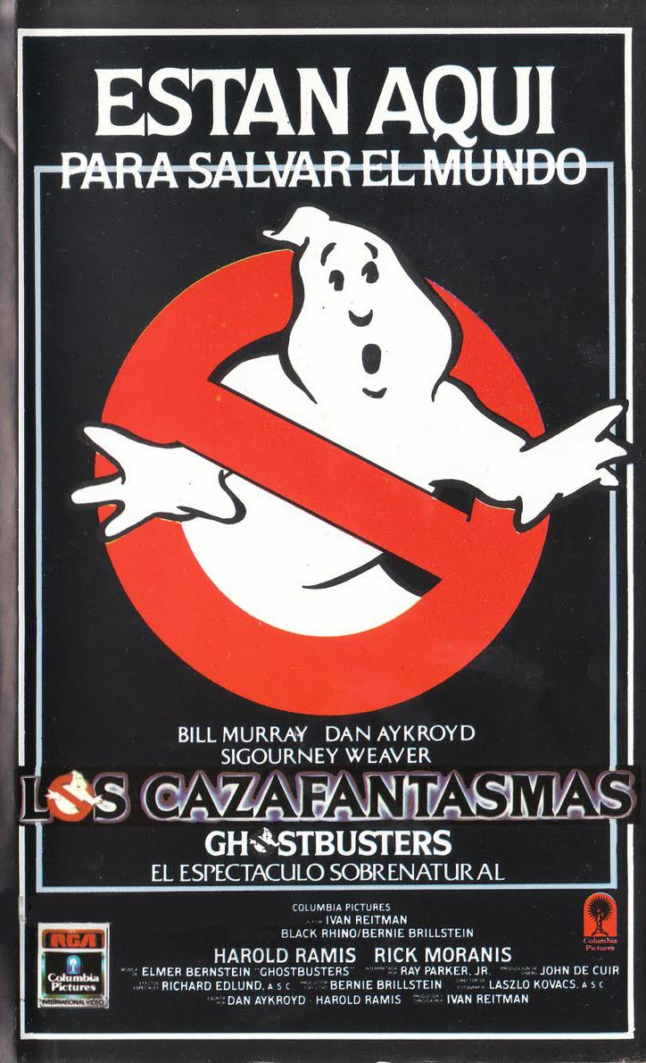 Los cazafantasmas, Ghostbusters, Bill Murray, Harold Ramis, Dan Aykroyd, Ivan Reitman