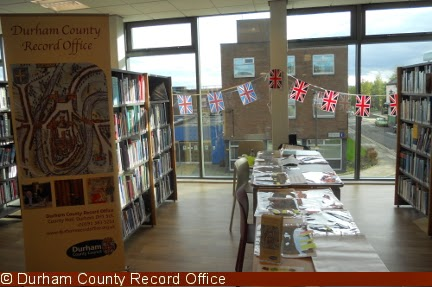 Our display at the Stockton library event