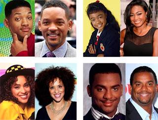 Antes y ahora de los actores de El Príncipe de Bel-Air