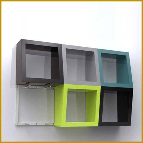 11 more wall mounted bookshelves interior design. Black Bedroom Furniture Sets. Home Design Ideas