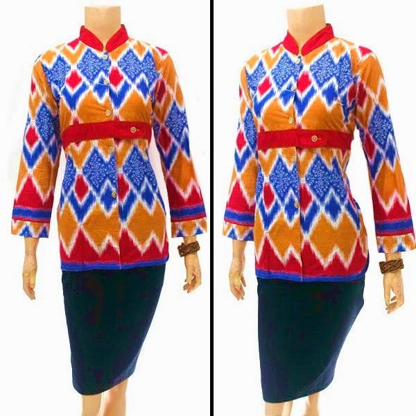 Blouse Batik motif rang rang