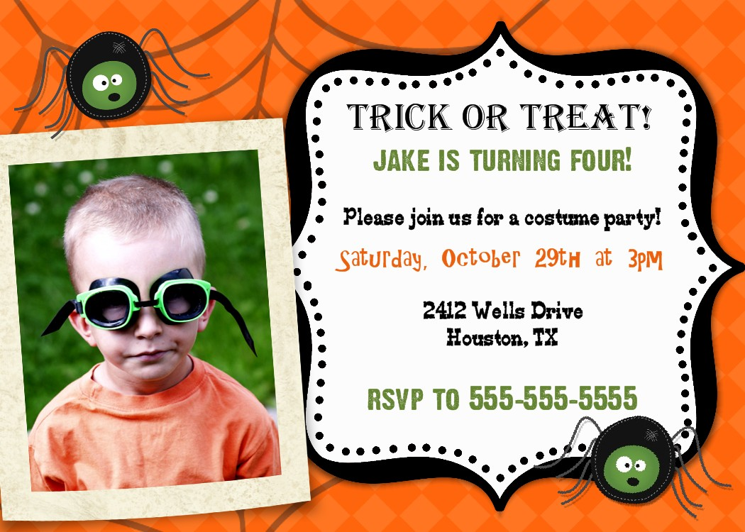 Bear River Photo Greetings: Halloween Party Invitations