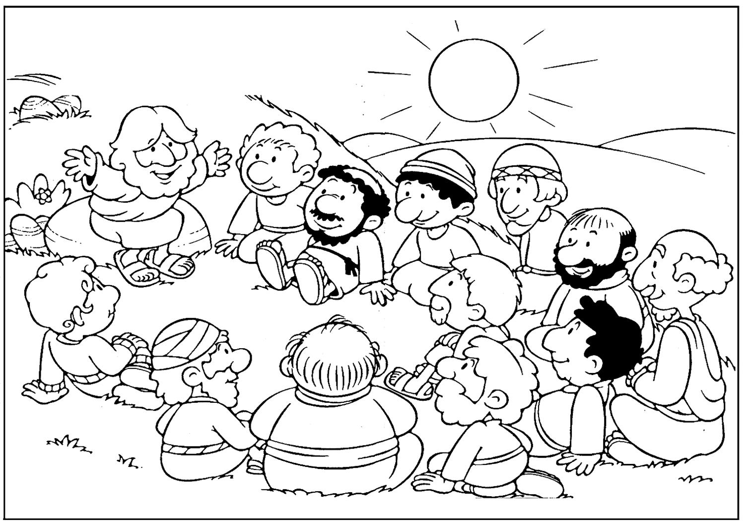LA CLASE DE RELIGIÓN EN EL CEIP RICO SAPENA