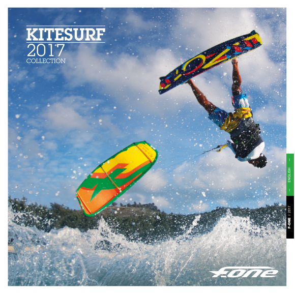CATALOFO KITE F-ONE 2017