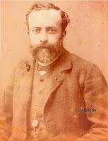 Brandweercommandant Vincent Cocquyt (1850-1904) op oudere leeftijd.