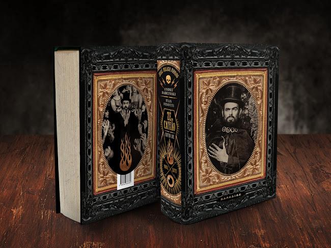 Zé do Caixão - Maldito, a Biografia ganha nova edição de incrível pela DarkSide