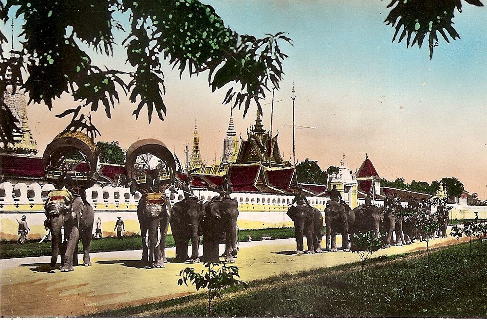Radioamateur souvenirs de la caer en indochine 1954 1956 for Jardin indochine