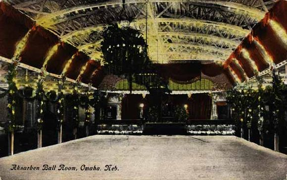 The Ak-Ser-Ben Ballroom in Omaha