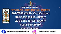 Min. of Health COVID-19 Hotlines