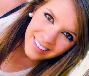 adolescente guapa maquillada