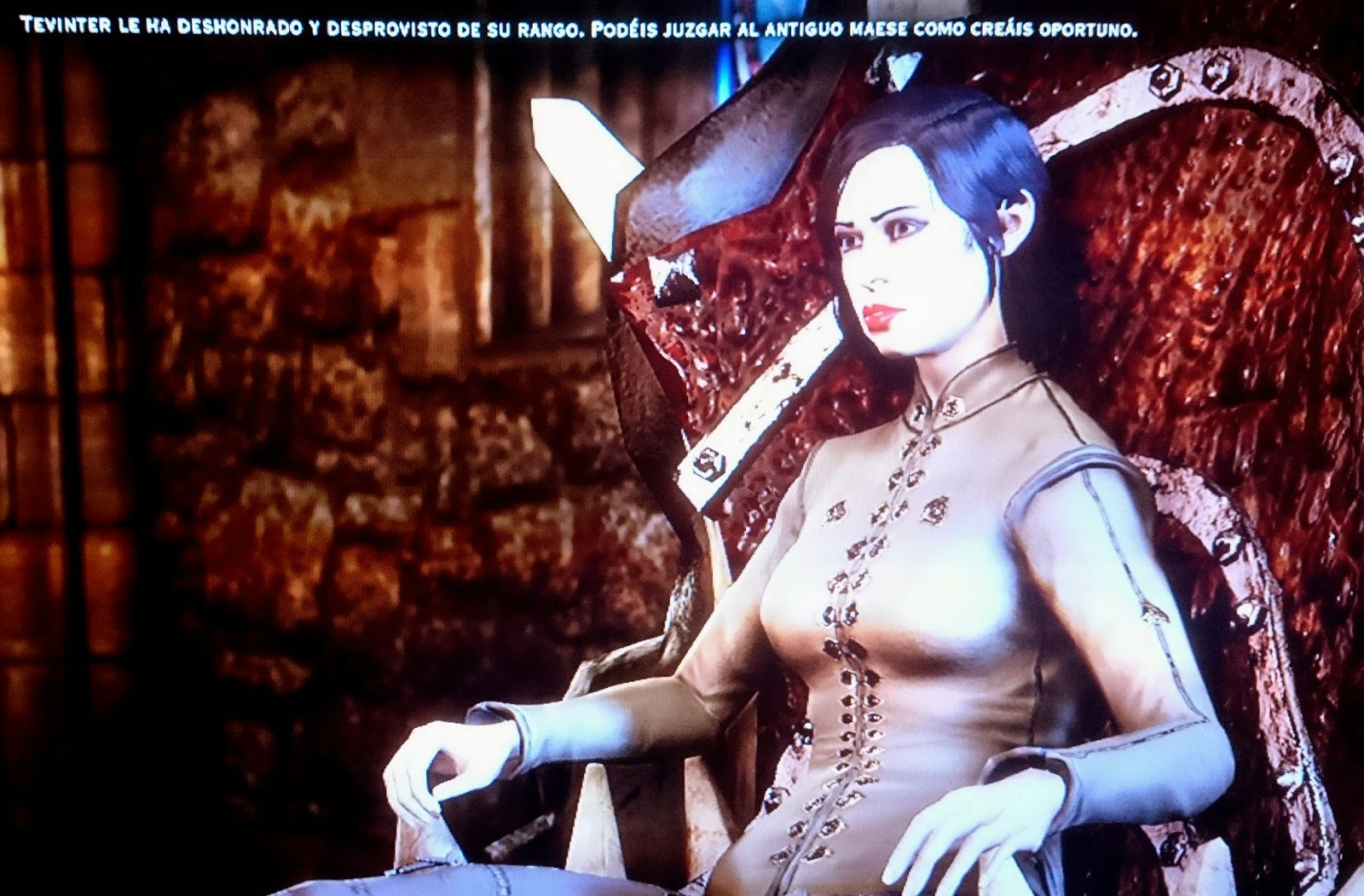 dragon age inquisition trono inquisidora