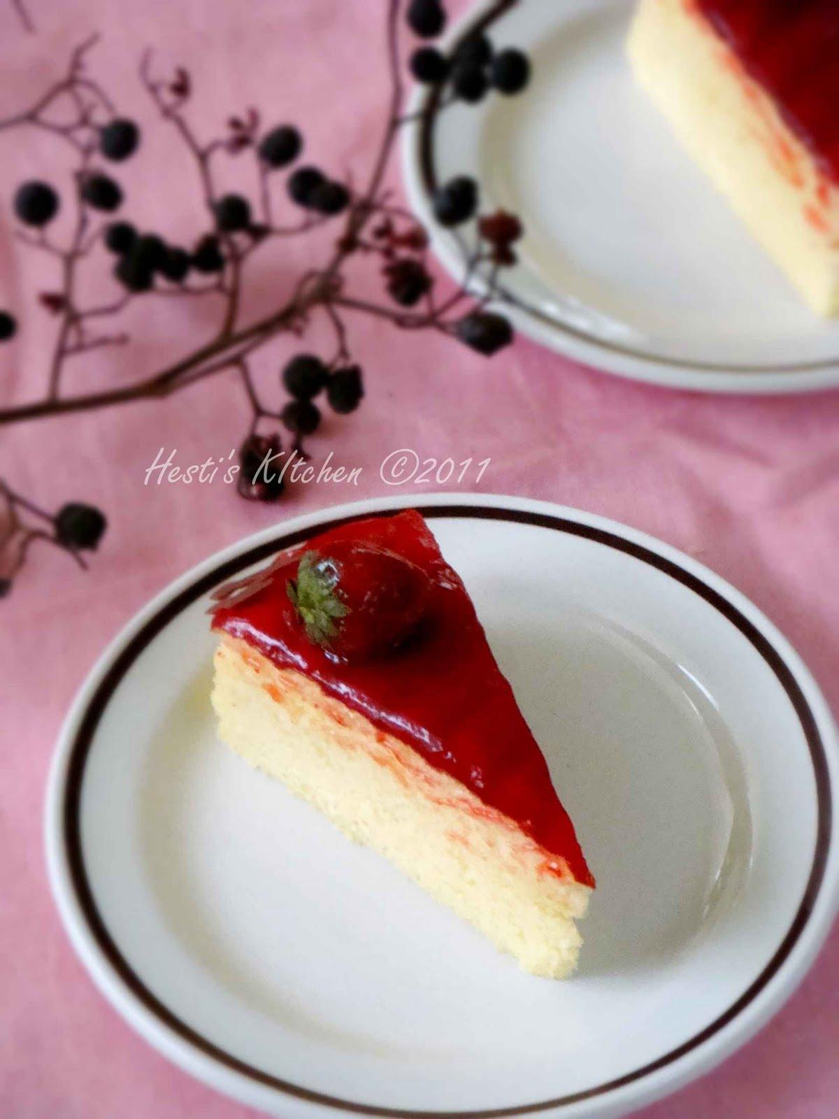 HESTI'S KITCHEN : yummy for your tummy: Strawberry Cheese