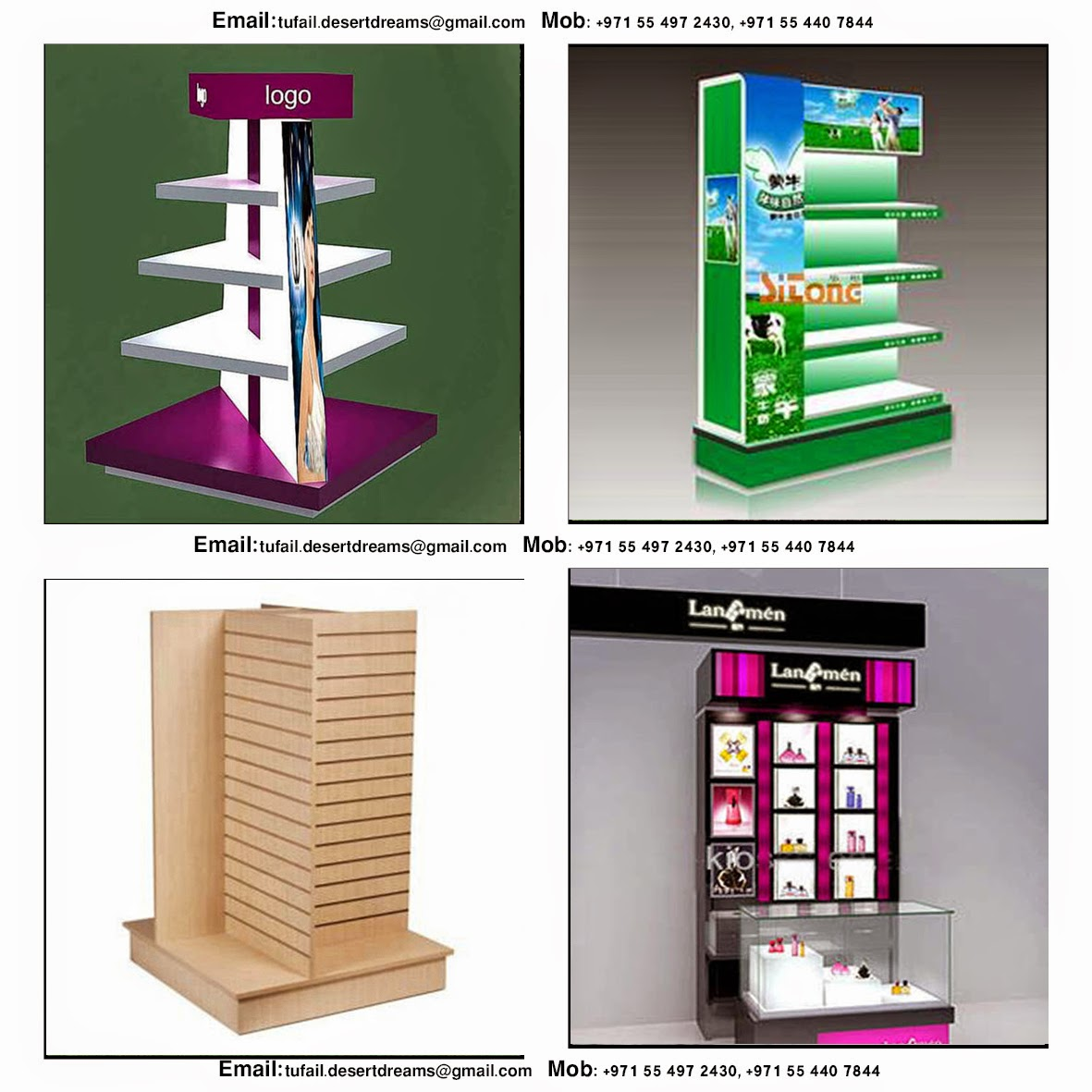 stand display ideas