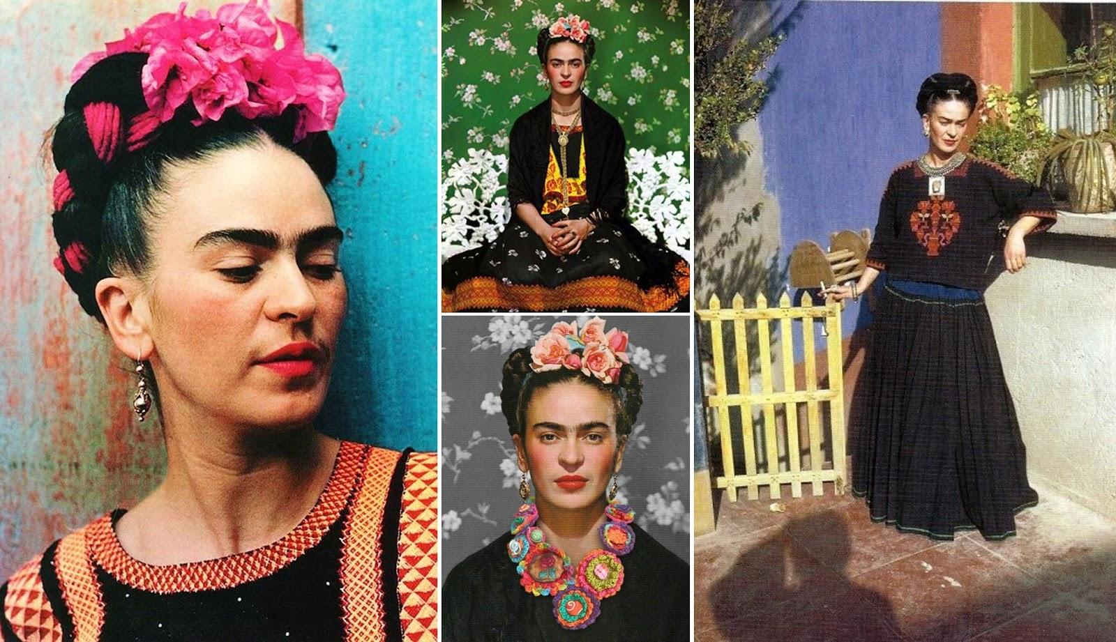 Style icon frida kahlo - Estilo frida kahlo ...