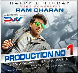 Ram Charan Latest Birthday Wallpapers