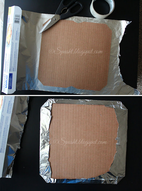 Cake Aluminum Foil Papper Towel Shiny Side