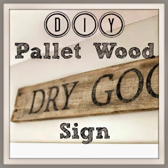 DIY Pallet Wood Sign, shared by Noting Grace