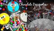 Pirulitos de Chocolate Decorados