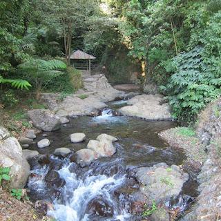 Walkway to Gitgit Waterfall in North Bali