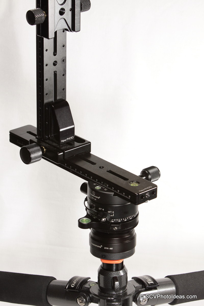 HDR Panorama head Assembly w/ Sunwayfoto DDP-64S as horizontal rotator