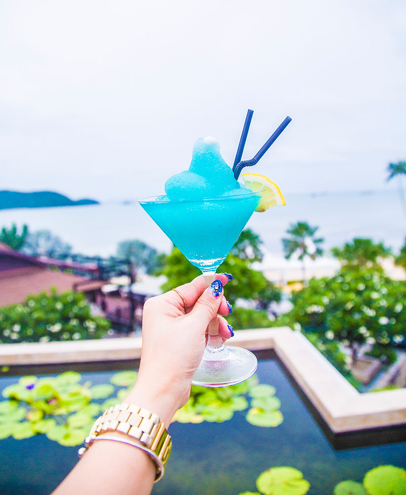 Radisson Blu Plaza Phuket hotel welcome drink