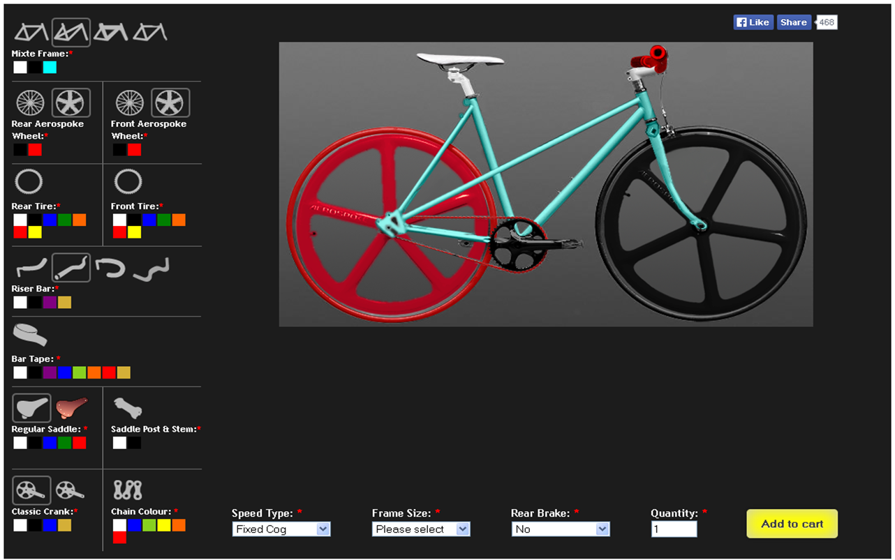 the fixed gear world customize your bike the single bikes our crazy desing in the single bikes online tool