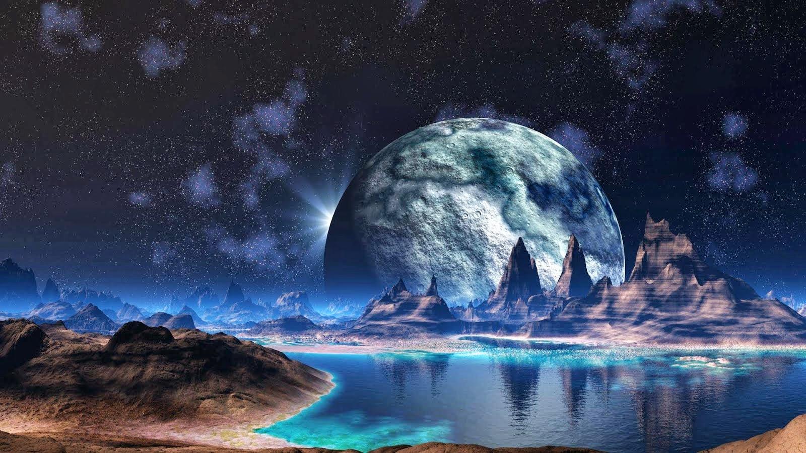 Space art wallpaper hd