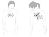 China Adoption T-shirt Design