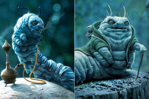 How Your Favorite Film Characters Were Meant To Look Like!