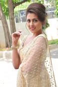 Madhu Shalini sizzling in saree-thumbnail-10