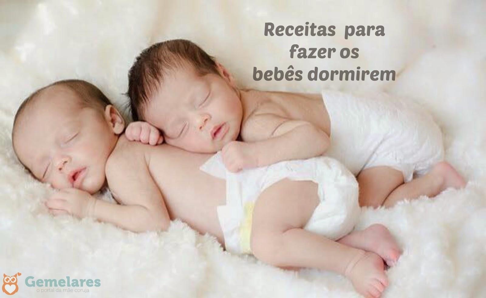 Receitas para fazer os bebês dormirem