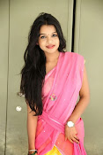 Bhavya Sri Photos in Pink Halfsaree-thumbnail-13