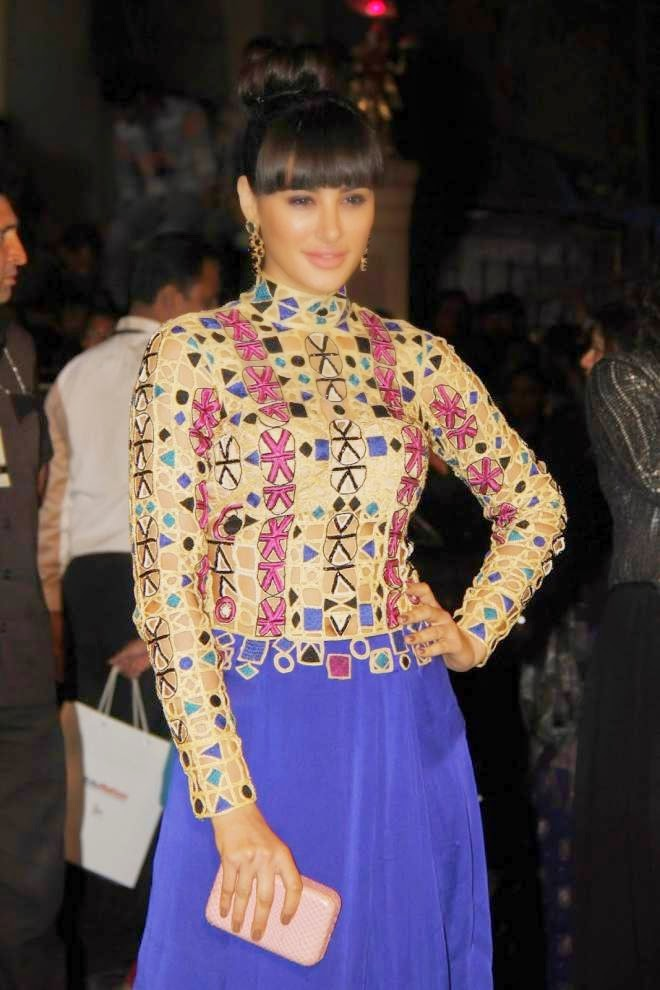 Nargis Fakhri at Filmfare Awards 2014 Photos