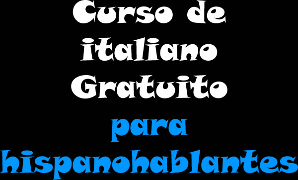 Curso de italiano gratuito para hispanohablantes