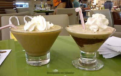 Pereira Café: Banana Café e Coffe Shake Nutella