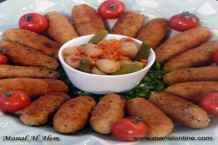 In a deep saucepan put the potatoes and cover with water Chicken Kofta with Cheese Recipe