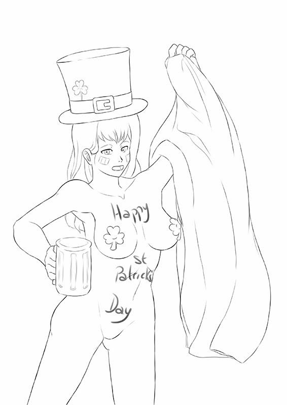 Happy Naked St. Patrick's Day!
