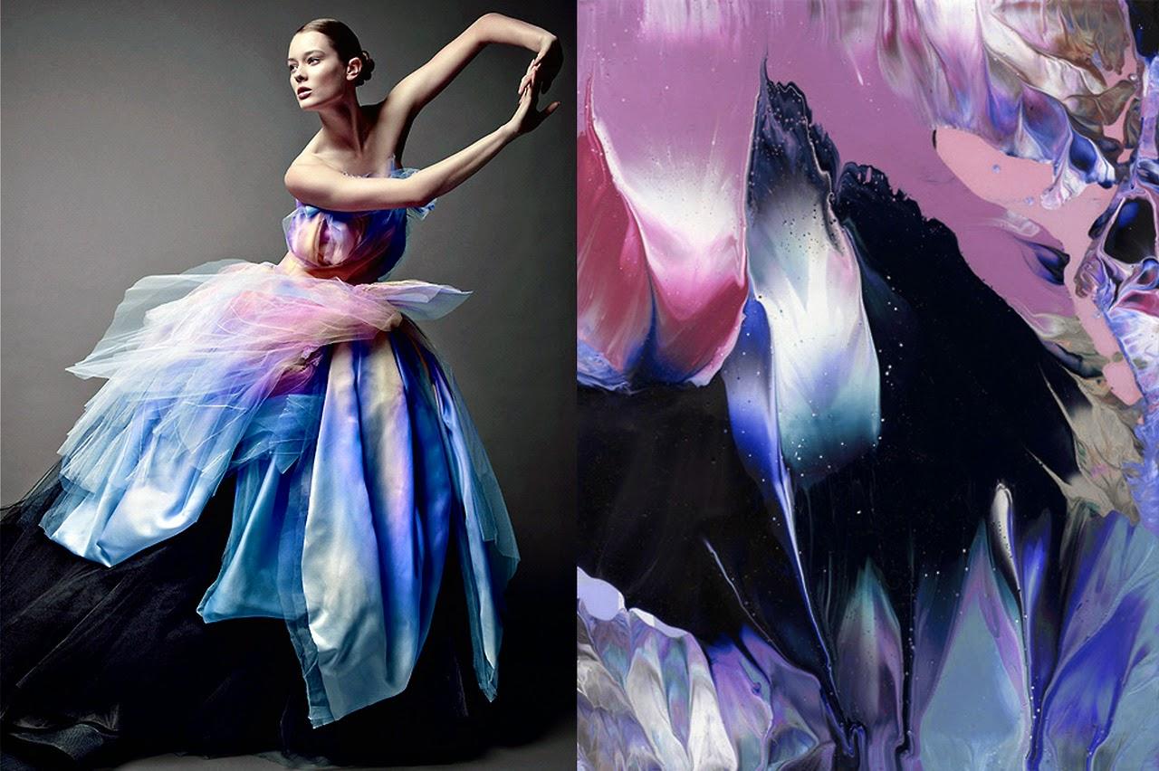 R Serve D 39 Inspirations De La Peinture Au Textile