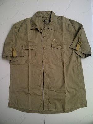 baju atasan Outdoor Eiger Lengan Pendek