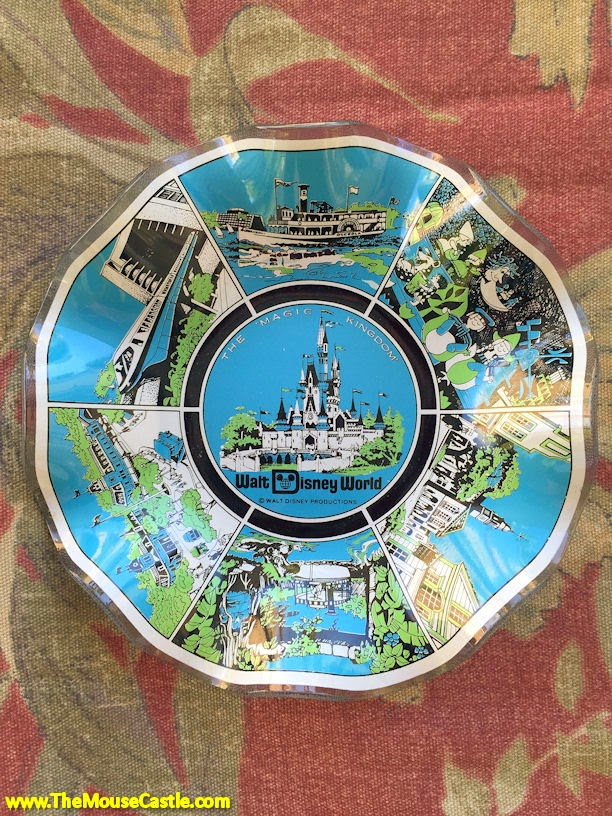Walt Disney World ashtray, 1978