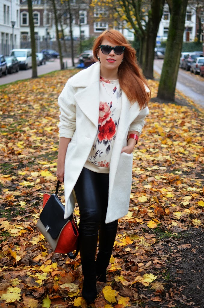 fashion-bridge blog, Asos coats, Celine bags, street style, street style Netherlands, Marc by Marc Jacobs sunglasse