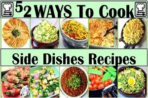 Side Dishes to Round out any Meal!