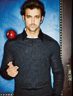 Hrithik Roshan on cover page of Filmfare Nov 2013 and full photoshoot