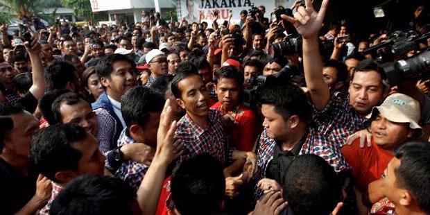 Di Lokasi Kebakaran Pekojan Jokowi Unggul 906 Suara
