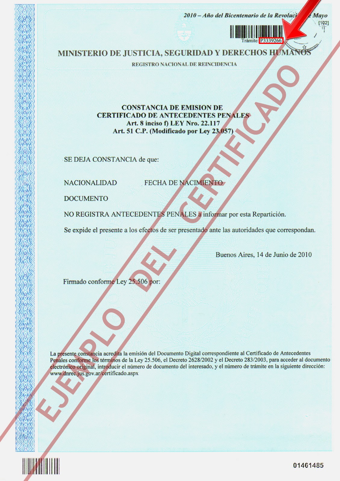 Leandro Vieira Documentos En Rosario Residencia