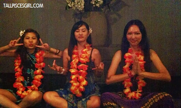 3 crazy girls meditating in our own way