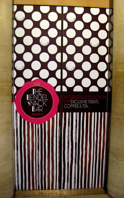The Bendel Snack Bar Elevator at Henri Bendel in New York, NY - Photo by Taste As You Go