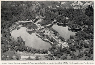 Old Photo of Minh Mang Tomb Imperial (Hue - Vietnam)