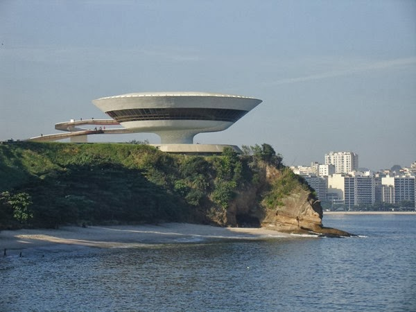 Niterói Contemporary Art Museum - Rio de Janeiro, Brazil