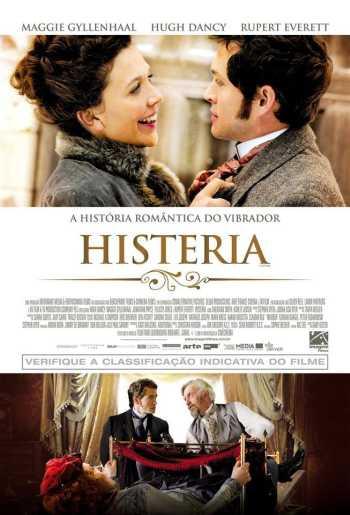 filme histeria poster cartaz maggie gyllenhaal hugh dancy